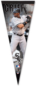 Ken Griffey Jr Chicago White Sox 2008 Premium Collector's Pennant - Wincraft