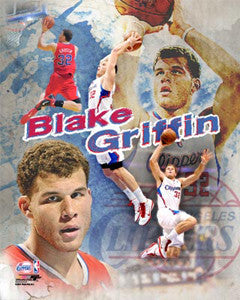 "Blake Griffin ""High-Flyer"" (2011) - Photofile 16x20"