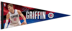 "Blake Griffin ""Signature Series"" LA Clippers NBA Premium Felt Collector's Pennant - Wincraft"