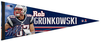"Rob Gronkowski ""Signature Series"" Premium NFL Felt Collector's Pennant (2012) - Wincraft"