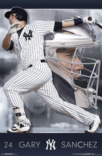 "Gary Sanchez ""Superstar"" New York Yankees Official MLB Baseball Poster - Trends 2017"