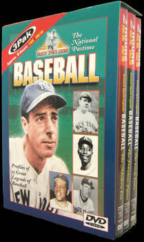 "DVD Set: ""Greatest Sports Legends - Baseball"" - MMV 2000"