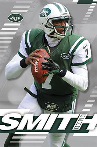 "Geno Smith ""Superstar"" New York Jets QB Official NFL Poster - Costacos 2014"