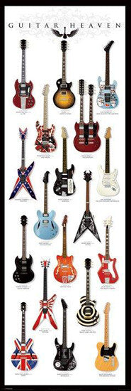 Guitar Heaven HUGE Door-Sized Poster - Pyramid International