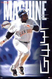 "Tony Gwynn ""The Machine"" San Diego Padres Poster - Costacos 2000"