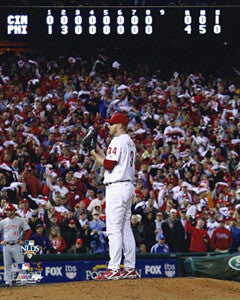 "Roy Halladay ""NLDS No-No"" (Oct. 6, 2010) Premium Poster Print - Photofile 16x20"