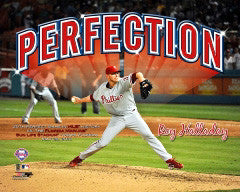 "Roy Halladay ""Perfection"" (2010) Philadelphia Phillies Premium Poster - Photofile 16x20"