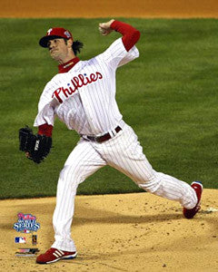 "Cole Hamels ""Game 5"" - Photofile 16x20"