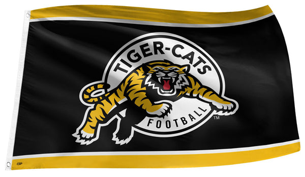 Hamilton Tiger-Cats CFL Football 3'x5' Official Team Banner FLAG - The Sports Vault