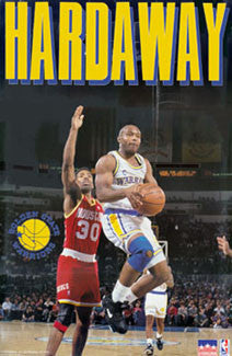 "Tim Hardaway ""Golden State"" - Starline 1992"