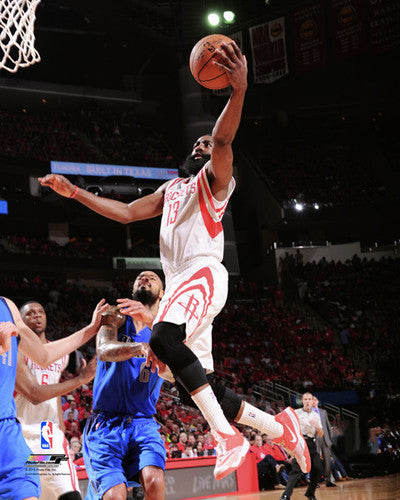 "James Harden ""Launch"" Houston Rockets NBA Action Premium Poster Print - Photofile 16x20"
