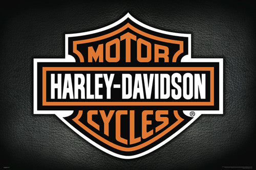 Harley-Davidson Motorcycles Official Logo Poster - Pyramid America