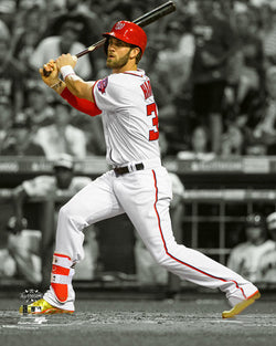 "Bryce Harper ""Spotlight"" Washington Nationals Baseball Premium Poster Print - Photofile 16x20"