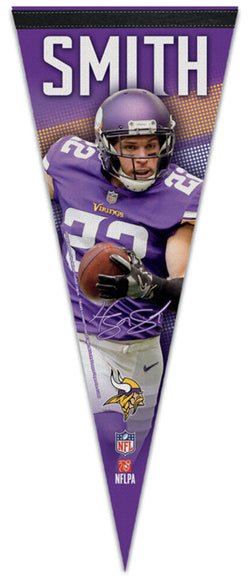 "Harrison Smith ""Signature Series"" Minnesota Vikings Premium Felt Collector's Pennant - Wincraft"