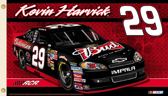 "Kevin Harvick ""Harvick Nation"" 3'x5' Flag - BSI Products 2012"