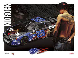 "Kevin Harvick ""Kid Rock 2004"" Commemorative - Action Collectables"