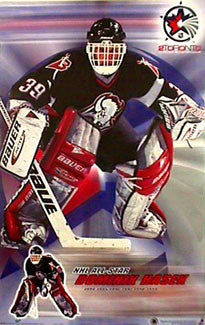 "Dominik Hasek ""All-Star 2000"" Buffalo Sabres NHL Hockey Poster - T.I.L. 1999"