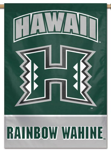 University of Hawaii Rainbow Wahine NCAA Premium 28x40 Wall Banner - Wincraft Inc.