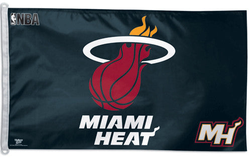 Miami Heat Official NBA Basketball 3'x5' Flag - Wincraft Inc.