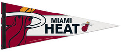 Miami Heat NBA Basketball Premium Felt Pennant - Wincraft Inc.