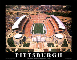 "Heinz Field Opener ""From Above"" Premium Poster Print - Aerial Views 2001"