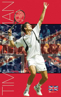 "Tim Henman ""England Ace"" - Ace Authentic 2004"