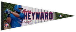 "Jason Heyward ""Signature Series"" Chicago Cubs Premium Felt Collector's Pennant - Wincraft Inc."