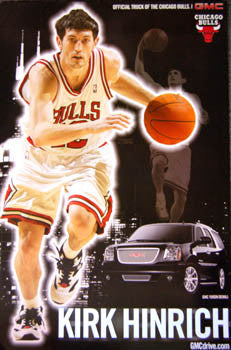 Kirk Hinrich Chicago Bulls Action Poster - Chicagoland GMC