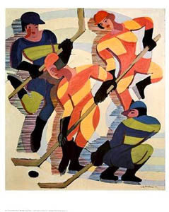 """Hockey Players"" (Ernst Ludwig Kirchner) - Shorewood"