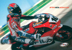 "Neil Hodgson ""MotoGP Action"" Ducati Motorcycle Racing Poster - Suomy"