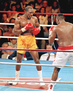 "Evander Holyfield ""Action '92"" Boxing Premium Poster Print - Photofile 16x20"