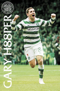 "Gary Hooper ""Super 88"" Glasgow Celtic FC Poster - GB Eye 2011"