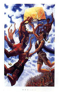 """In the Sky"" (Streetball) - Justin Bua 1995"