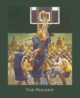 """The Rucker"" (Streetball) - Kadir Nelson 2004"