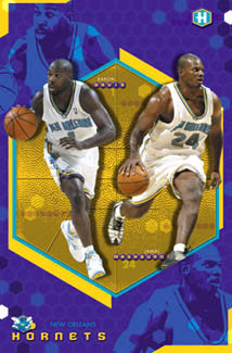 "New Orleans Hornets ""Mash & Dash"" - Costacos 2003"