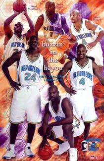 "New Orleans Hornets ""Buzzin"" - Starline 2003"
