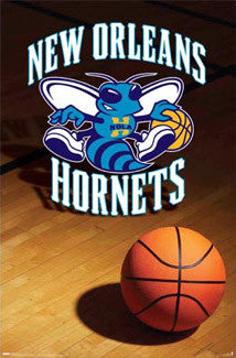 New Orleans Hornets Official NBA Logo Poster - Costacos
