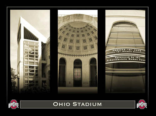 "Ohio Stadium ""Classic Triptych"" - My Team Prints 2007"