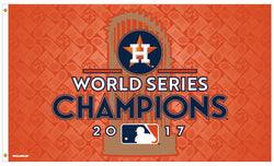 Houston Astros 2017 World Series Champions Deluxe-Edition 3'x5' FLAG - Wincraft
