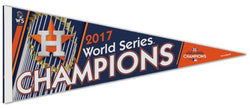 Houston Astros 2017 World Series Champions Premium Felt Collector's Pennant - Wincraft