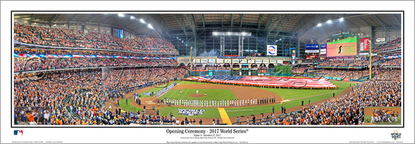 "*SHIPS 11/24* Houston Astros ""World Series Majesty 2017"" Minute Maid Park Panoramic Poster Print - Everlasting Images"