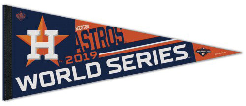 Houston Astros 2019 American League Champions Premium Felt Collector's Pennant - Wincraft