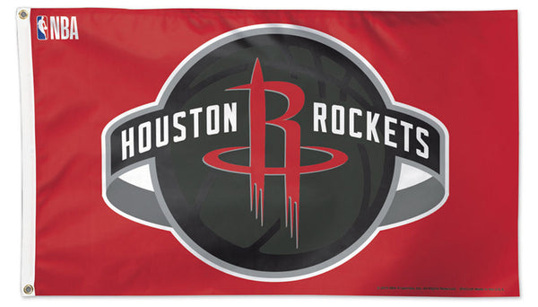 Houston Rockets Official NBA Basketball Deluxe-Edition 3'x5' Team FLAG - Wincraft 2019
