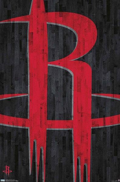 Houston Rockets Official NBA Basketball Team Logo Wall Poster - Trends International