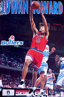 "Juwan Howard ""Bullet"" - Starline 1995"