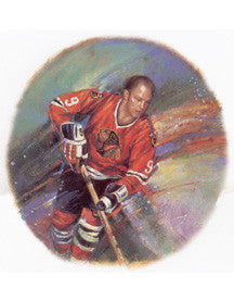"Bobby Hull ""Legend"" Art Print - Canada Post 2004"