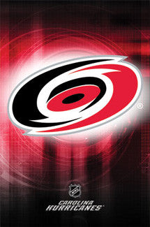 Carolina Hurricanes Official NHL Team Logo Poster - Costacos