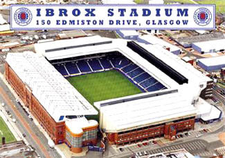 "Glasgow Rangers Ibrox Stadium ""From Above"" - GB 2002"