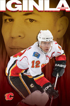"Jarome Iginla ""Captain Calgary"" - Costacos 2009"