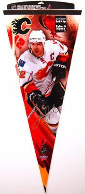 "Jarome Iginla ""Big-Time"" EXTRA-LARGE Premium Felt Pennant"